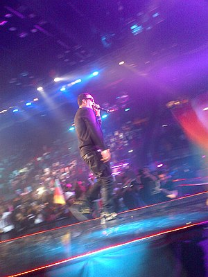 French Montana discography - French Montana performing at the 2014 MAMAs.