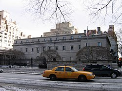 La sede della Frick Collection sulla Fifth Avenue a New York