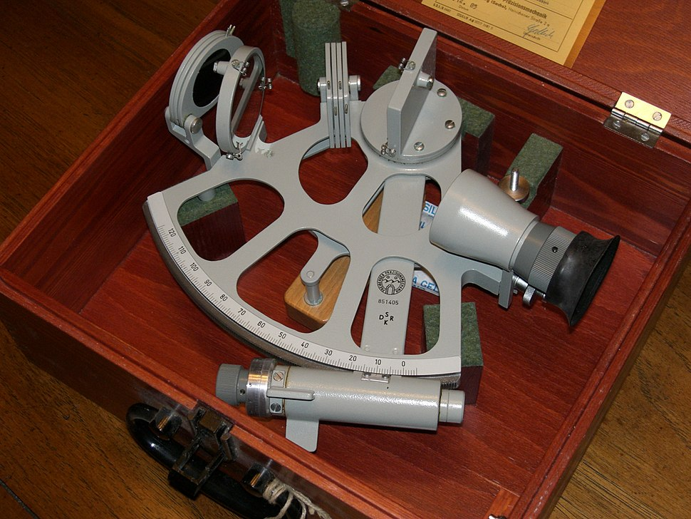 Frieberger drum marine sextant