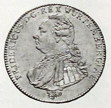 Taler Württemberg 1806 (Quelle: Wikimedia)