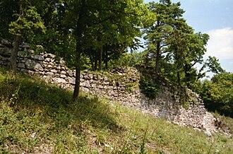 Aesch, Basel-Landschaft - Ruins of Frohberg Castle