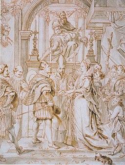 Fromiller - Die Vermählung durch Prokuration in Florenz