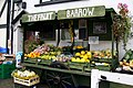 Fruit and veg barrow at Watchet Harbour - geograph.org.uk - 988783.jpg
