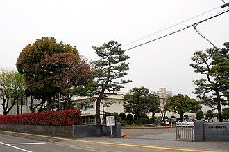 Fukui Prefectural Fujishima High School - Image: Fujishima Senior High School