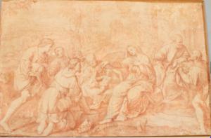 Adoration of the Shepherds (Raphael) - Raphael Santi (?), Adoration of the Shepherds, 1508