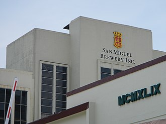 San Miguel Brewery - San Miguel Brewery production facility in Polo, Valenzuela