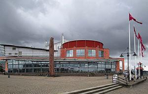 The Göteborg Opera - The Göteborg Opera house, northern facade