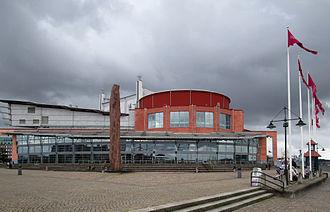 Gothenburg opera house - The Göteborg Opera house, northern facade
