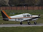 G-AVBH Piper Cherokee (26508712512).jpg