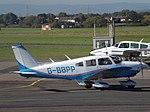 G-BBPP Piper Cherokee 28 (30092365351).jpg