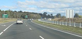 Gungahlin Drive Extension parkway in the Australian Capital Territory