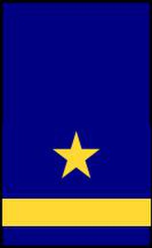 Unterleutnant - Image: GDR Navy OF1c sleeve