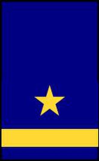 Sub-lieutenant - Unterleutnant of the Volksmarine
