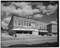 GENERAL SETTING LOOKING EAST - Smart Block, 6 Main Street, Montello, Marquette County, WI HABS WIS,39-MONT,2-2.tif