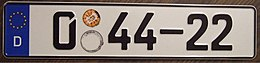 GERMANY Diplomat, FINLAND embassy license plate Flickr - woody1778a.jpg