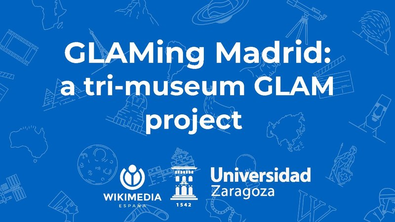 GLAMing Madrid a tri-museum GLAM project