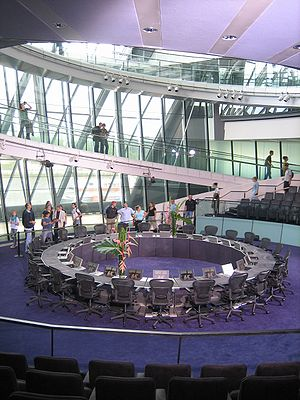 The Chamber of the Greater London Assembly