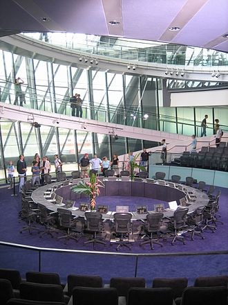 London Assembly - Image: GLA Chamber