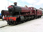 GWR 'Hall' 5972 'Olton Hall' at Doncaster Works.JPG