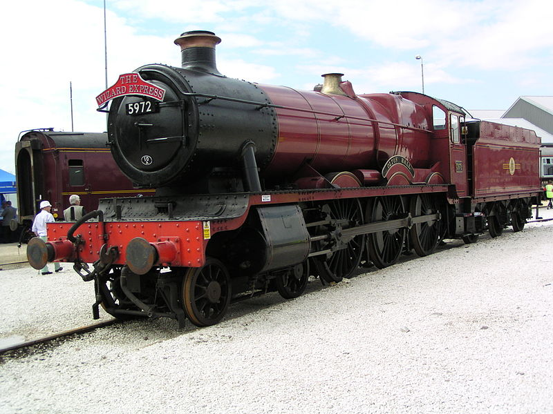 File:GWR 'Hall' 5972 'Olton Hall' at Doncaster Works.JPG