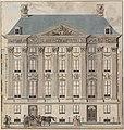 Gable View of the Trippenhuis, Reinier Vinkeles, 1803, drawing, Stadsarchief Amsterdam.jpg