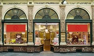 Neuhaus (chocolatier) - Neuhaus' original shop in the Galeries Royales in Brussels