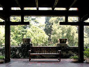 Gamble House (Pasadena, California) - View from the front porch