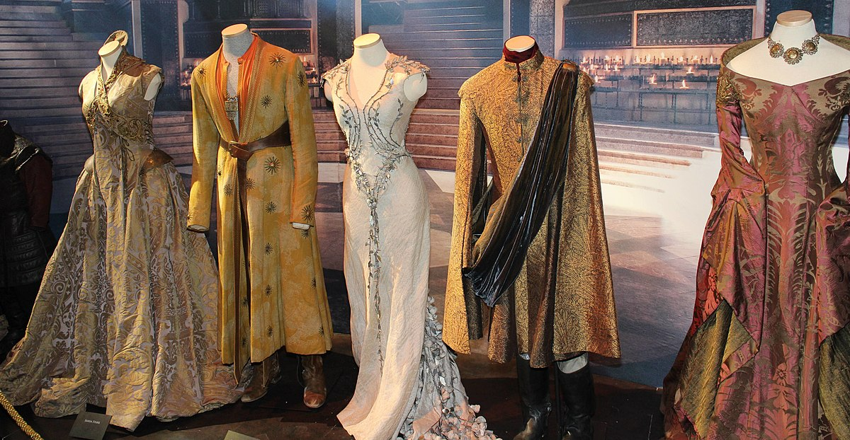 costume design for films Designer: john dunn movies made years later often do a better job of depicting fashions than films made at the time because period costume is exaggerated: we're shown a general population who all.