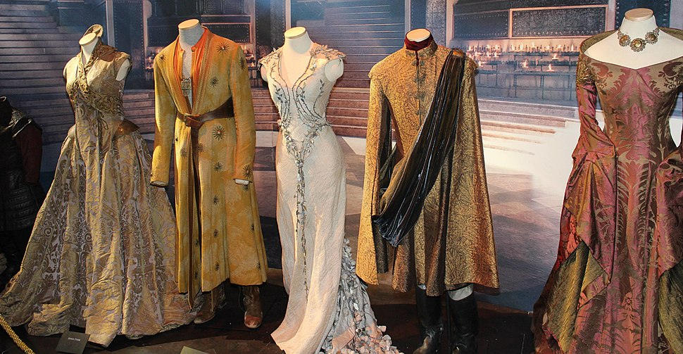 Game of Thrones Oslo exhibition 2014 - Royal court costumes