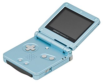 Flip (form) - Game Boy Advance SP.
