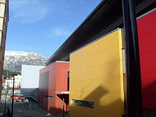 Le stade de glace Alp'Arena