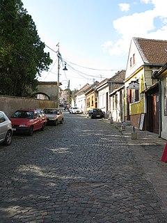 Gardoš Urban neighbourhood in Zemun, Belgrade, Serbia