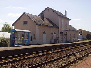 Avord - Train station