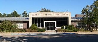 Garfield County, Nebraska - Image: Garfield County Courthouse (Nebraska) from W