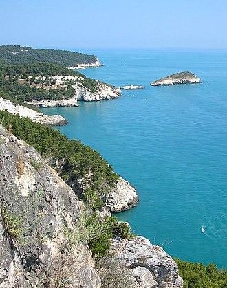 Gargano - Gargano typical coast