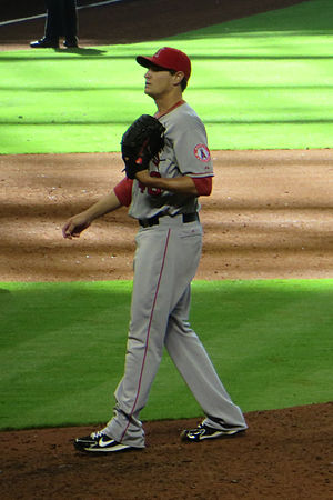 2013 Los Angeles Angels season - Garrett Richards in 2013.