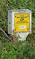 Gas pipeline sign - geograph.org.uk - 213026.jpg