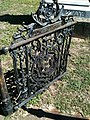 Gate to the Augustus W. Callaway cemetery lot - panoramio.jpg