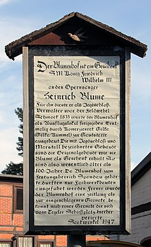 Gedenktafel, Im Saatwinkel 55, in Berlin-Tegel (Quelle: Wikimedia)
