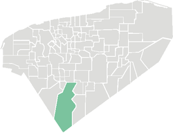 Location of Tekax in Yucatan