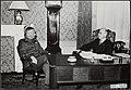 Generaal S. H. Spoor bezoekt Minister President L. J. M. Beel op een morgen in J, Bestanddeelnr 119-0135.jpg