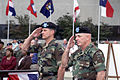 General (GEN) John W, Hendrix (left), USA, Commanding General US Army Forces Command, and Lieutenant General (LGEN) Leon J. LaPorte, USA, Deputy Commanding General for Forces Command, render salutes during a 010911-A-ZU786-012.jpg