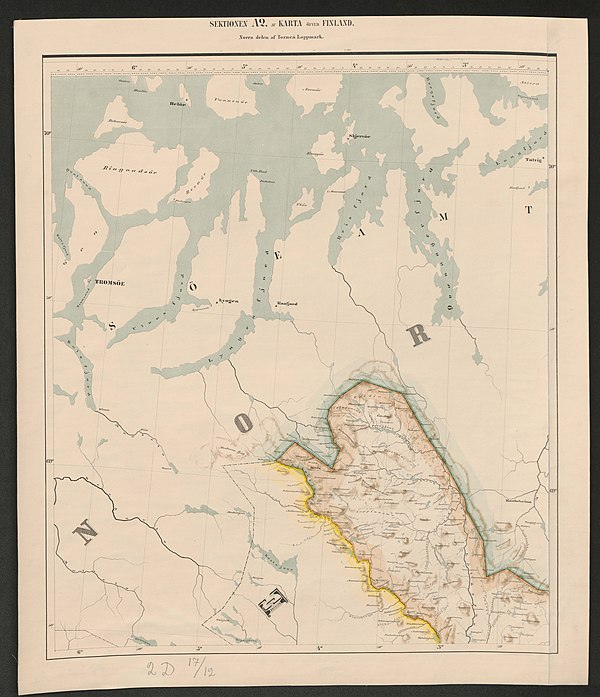 600px general map of the grand duchy of finland 1863 sheet a2