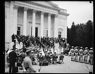 Service flag - Gold Star Mother's Day at Arlington National Cemetery in 1936