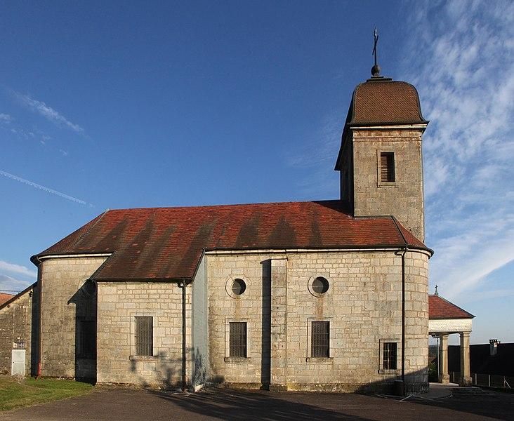 Église de Gennes (Doubs).