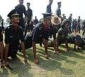 Gentlemen Cadets after Pipping Ceremony 2014.jpg