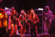 George Clinton and Parliament-Funkadelic performing at the Granada Theater in Dallas, Texas, May 4, 2006.