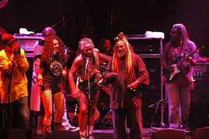 Psychedelic soul - George Clinton and Parliament-Funkadelic performing in 2006