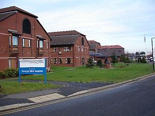 George Eliot Hospital Hospital in England