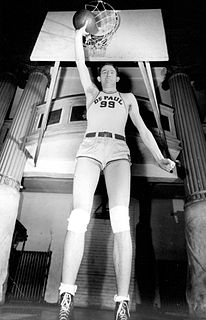 George Mikan American basketball player, coach, commissioner